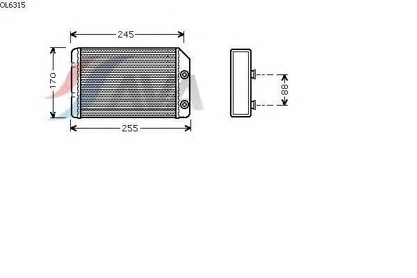 Теплообменник отопителя для опель вектра б многоходовые теплообменники